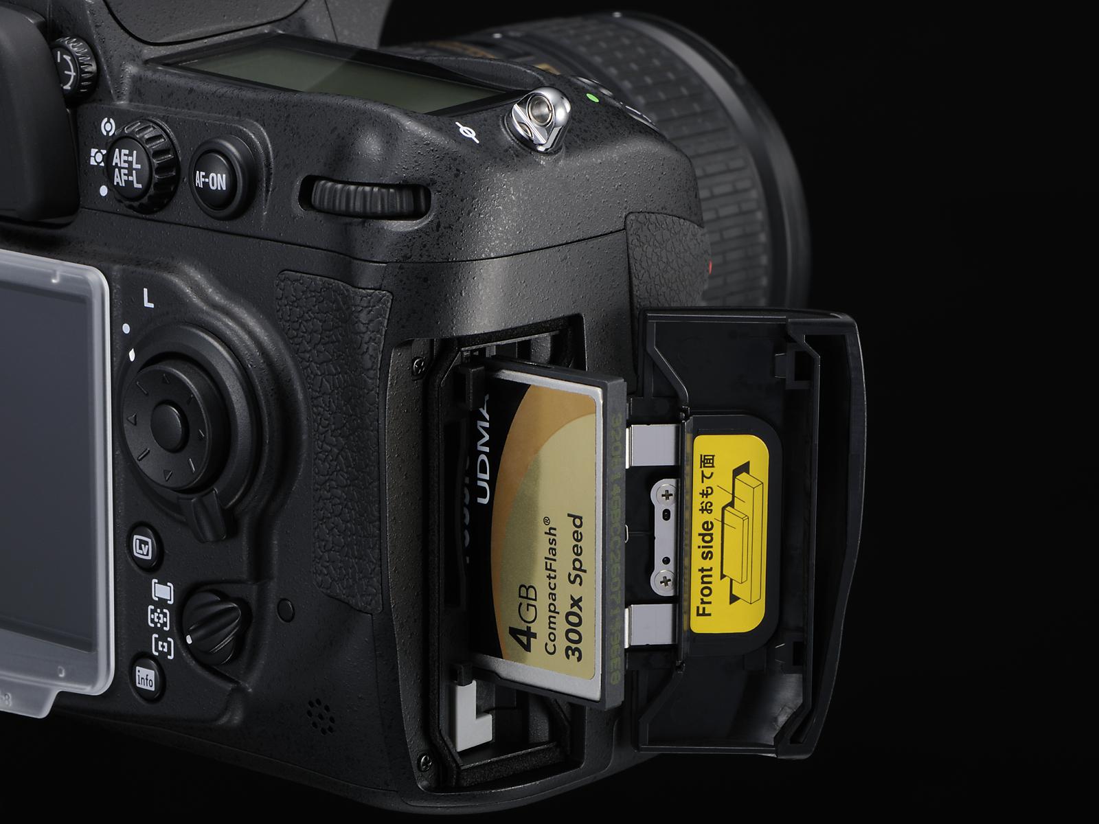 Lujoso Es La Nikon D300 Una Cámara De Fotograma Completo Adorno ...