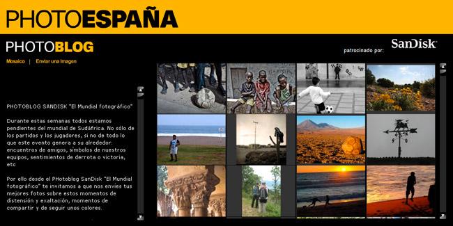 SanDisk PHotoEspaña 2010 Mundial Fotográfico