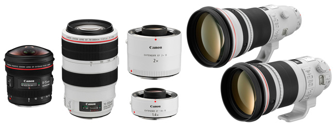 Canon EF Serie L