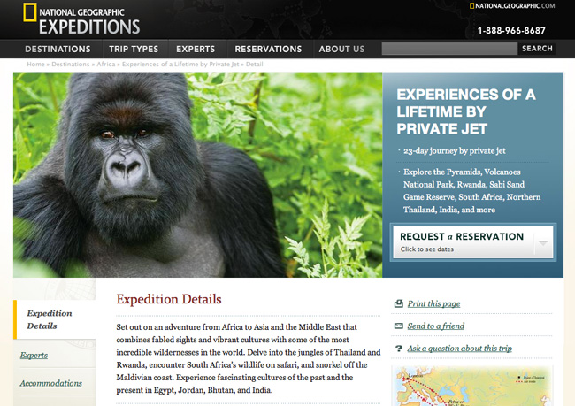 National Geographic Expeditions Travel