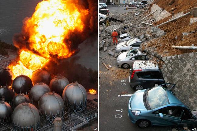 Tsunami Terremoto Japón