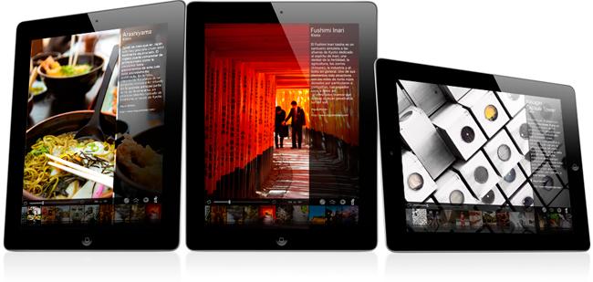 Memorias de Japón para iPad